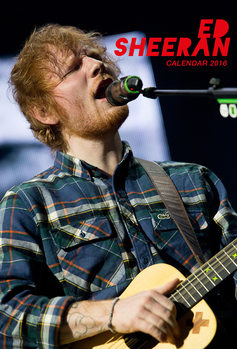 Calendario 2018  Ed Sheeran