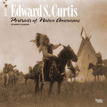 Calendario 2017 Edward S. Curtis: Portraits of Native Americans