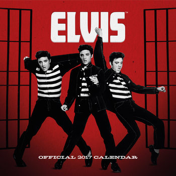 Calendario 2017 Elvis