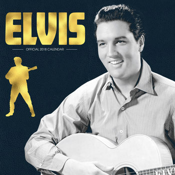Calendario 2018 Elvis
