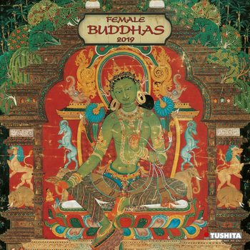 Calendario 2019  Female Buddhas