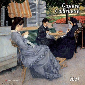 Calendario 2021 Gustave Caillebotte