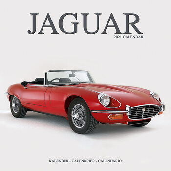 Calendario 2021 Jaguar