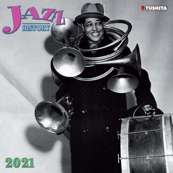 Calendario 2021 Jazz History
