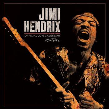 Calendario 2017 Jimi Hendrix
