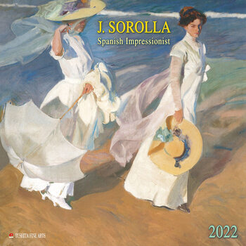 Calendario 2022 Joaquín Sorolla - Spanish Impressionist