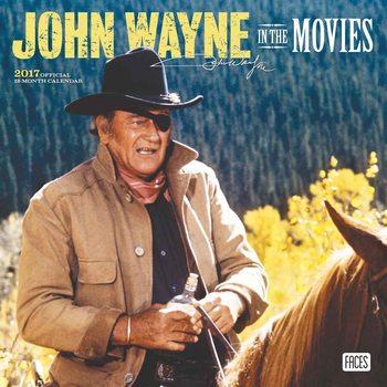 Calendario 2017 John Wayne