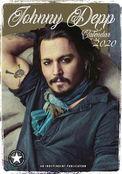 Calendario 2020  Johnny Depp