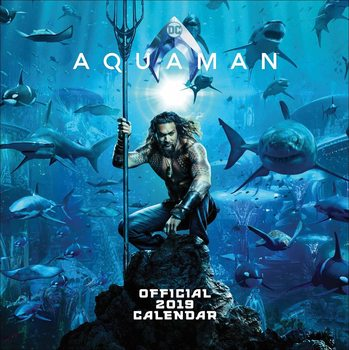 Calendario 2019  Justice League Aquaman