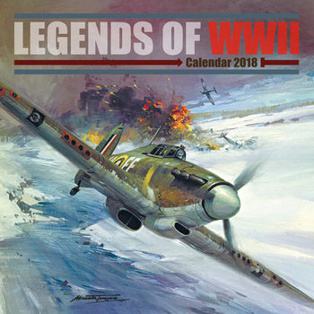 Calendario 2018 Legends of WWII
