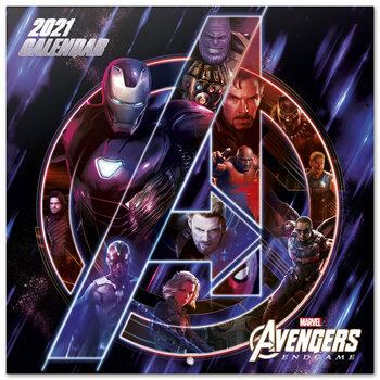 Calendario 2021 Marvel Avengers
