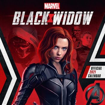 Calendario 2021 Marvel - Black Widow
