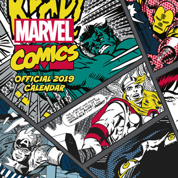 Calendario 2019  Marvel Comics