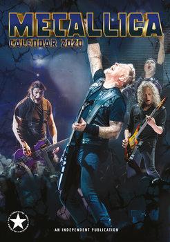Calendario 2020  Metallica