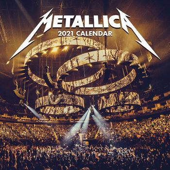 Calendario 2021 Metallica