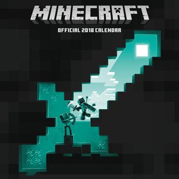 Calendario 2018 Minecraft