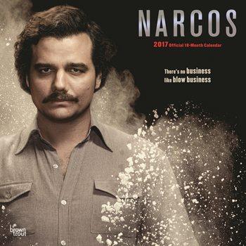 Calendario 2017 Narcos