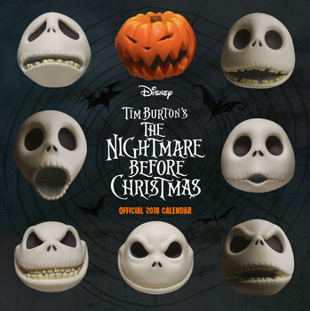 Calendario 2018 Nightmare Before Christmas