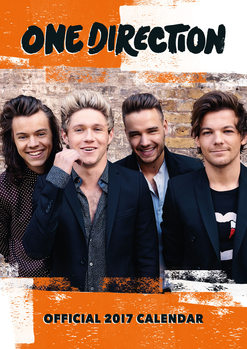 Calendario 2017 One Direction