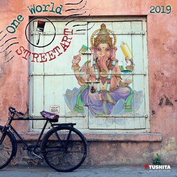 Calendario 2019  One World Street Art