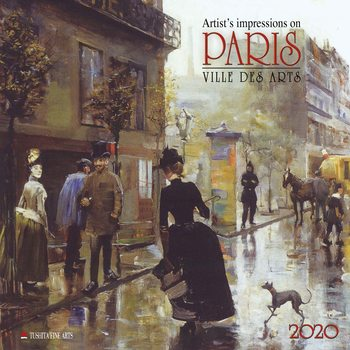 Calendario 2020  Paris - Ville des Arts