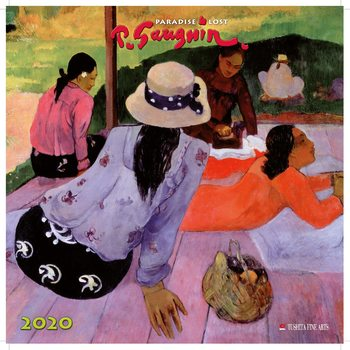 Calendario 2020  Paul Gauguin - Paradise Lost