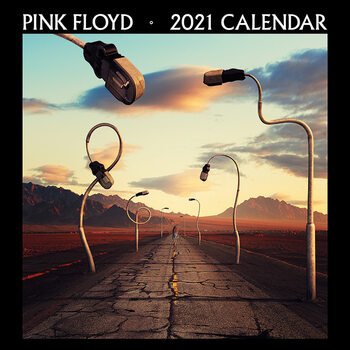 Calendario 2021 Pink Floyd