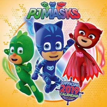 Calendario 2019  PJ Masks