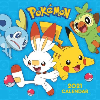 Calendario 2021 Pokemon