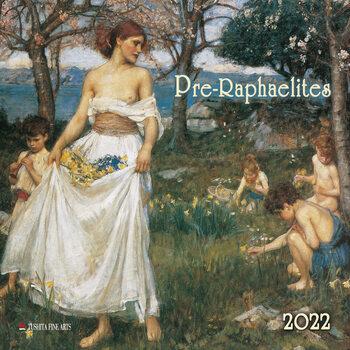 Calendario 2022 Pre-Raphaelites