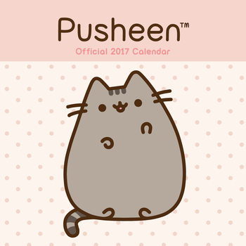 Calendario 2017 Pusheen