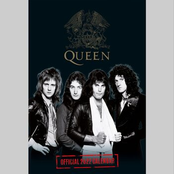 Calendario 2022 Queen