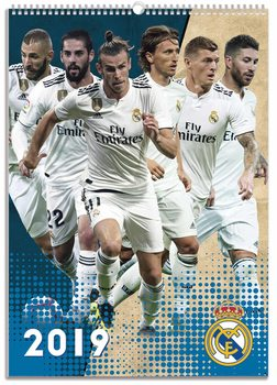 Calendario 2019  Real Madrid