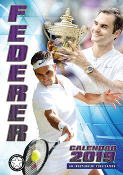 Calendario 2019  Roger Federer
