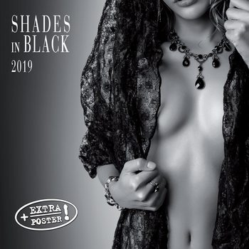 Calendario 2019  Shades of Black