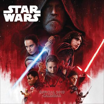 Calendario 2019  Star Wars – Episode 8 The Last Jedi