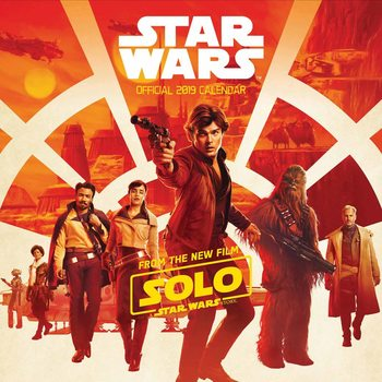 Calendario 2019  Star Wars – Hans Solo