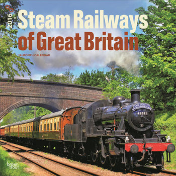Calendario 2018  Steam Railways of Great Britain
