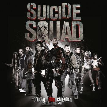 Calendario 2018 Suicide Squad