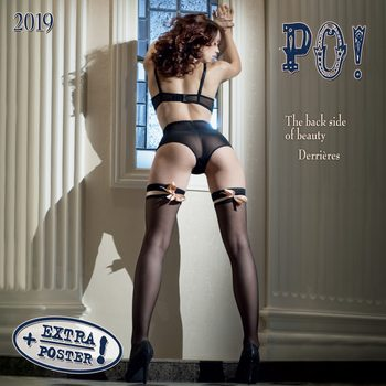 Calendario 2019  The Back Side of Beauty