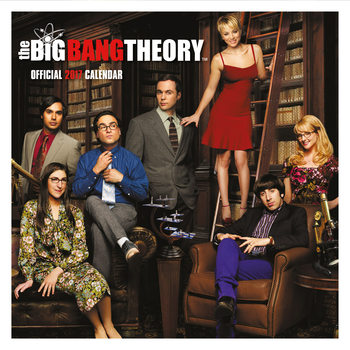 Calendario 2017 The Big Bang Theory