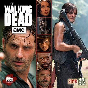 Calendario 2018 The Walking Dead