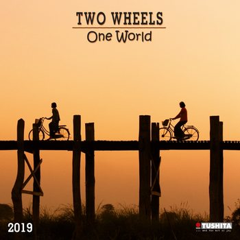 Calendario 2019  TWO wheels - ONE world