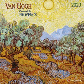 Calendario 2020  Van Gogh - Colours of the Provence