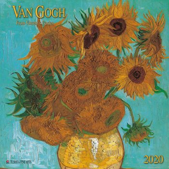 Calendario 2020  Van Gogh - From Vincent´s Garden