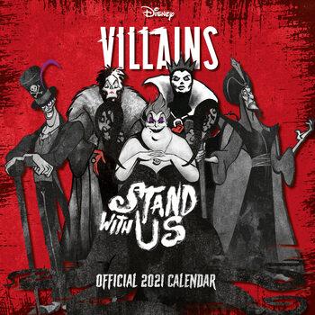 Calendario 2021 Villains