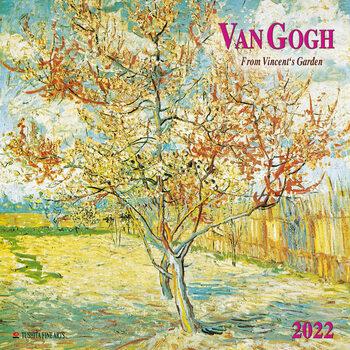 Calendario 2022 Vincent van Gogh - From Vincent's Garden