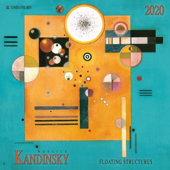 Calendario 2020  W.Kandinsky - Floating Structures