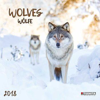 Calendario 2018 Wolves