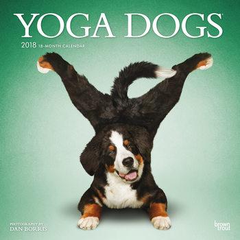 Calendario 2018 Yoga Dogs